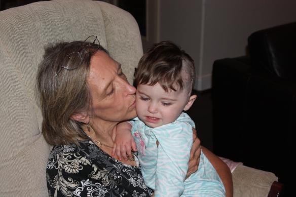 Grandma Lou and Savanna