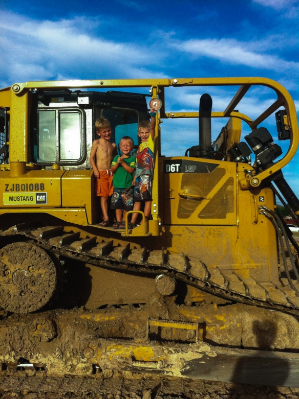 How many people can say they have been on a D6 dozer...